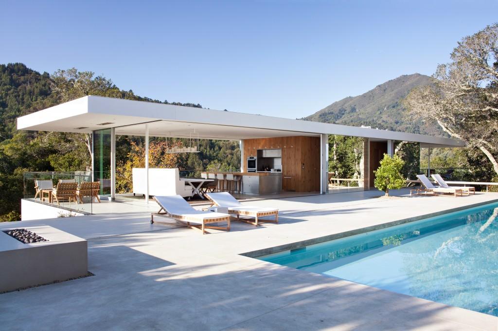 Turner residence for Construction maison type californienne